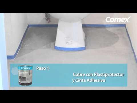 Ultraf cil pintura para pisos de comex industrial coatings - Pintura para pintar piso de cemento ...