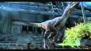 Jurassic park 3 :velociraptor Scenes