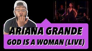 Ariana Grande - God iṡ a Woman (Ariana Grande At The BBC) REACTION