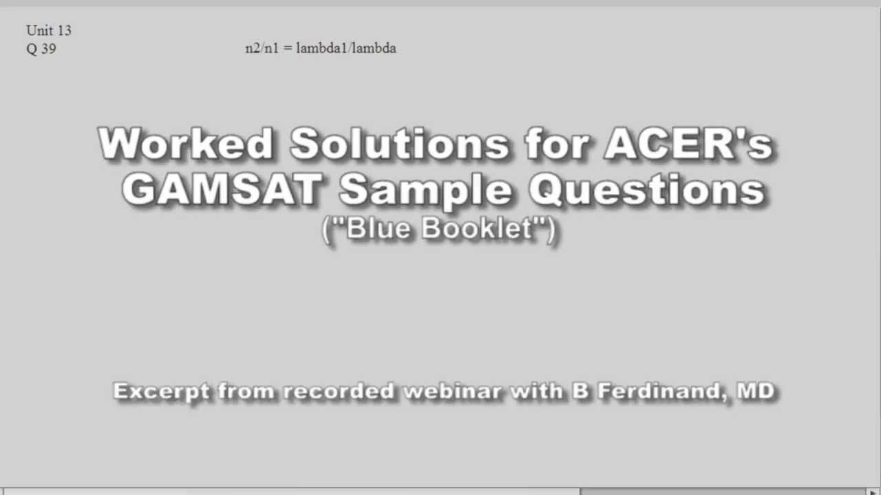 writing better essays gamsat This webinar discusses the candidate approach to preparing for section ii of gamsat gamsat section ii essay topics as well as essay structure are described.