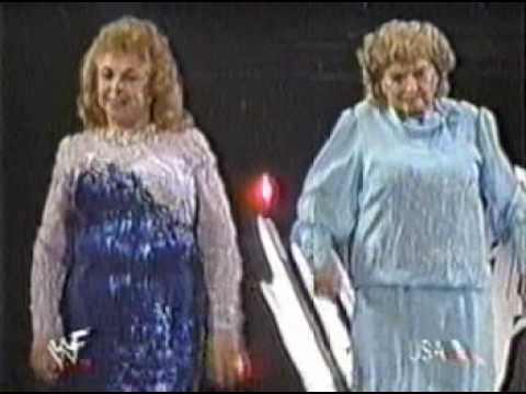 Ivory Vs The Fabulous Moolah & Mae Young Evening Gown Match