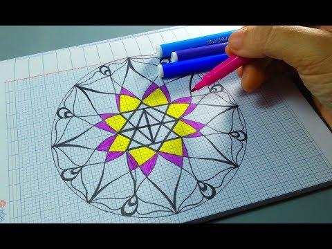 Vẽ Trang Trí Hình Tròn – Đĩa Tròn Galaxy Đẹp Và đơn giãn nhất/ Draw Circle/ Draw channel