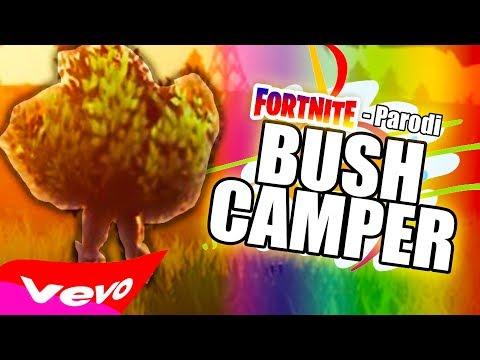 'BUSH CAMPER' - FORTNITE-Parodi på 'Shape Of You' av Ed Sheeran