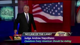 WHAT IF THE CONSTITUTION NO LONGER APPLIED? By Judge Andrew Napolitano