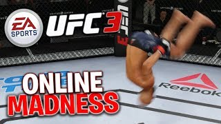 Going Against Another Player Online! UFC 3 Online Gameplay