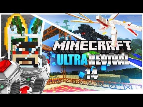 Minecraft: Ultra Modded Revival Ep. 14 - MEGA HAMMER