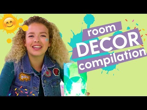 DIY Room Decor 1hr Hack Along Compilation! | GoldieBlox