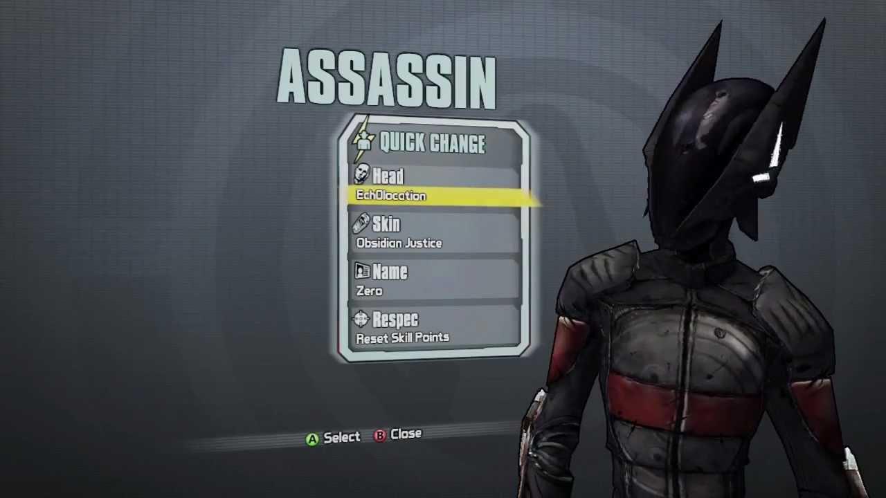 Borderlands 2: New Assassin DLC Heads & Skins (Supremacy ...