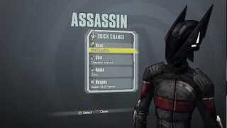 Borderlands 2: New Assassin DLC Heads & Skins (Supremacy, Madness, Domination)