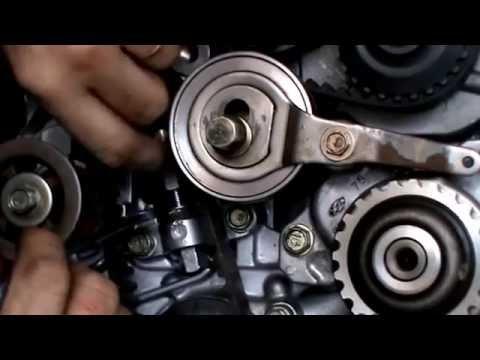 honda h22 auto tensioner modification youtube rh youtube com h22 timing belt tensioner tool h22 timing belt tensioner failure