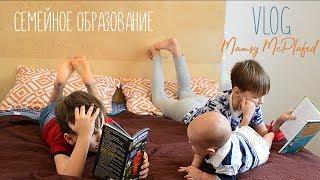 VLOG Семейное обучение I Как учатся наши дети