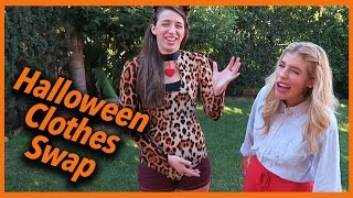 Halloween Clothes Swap Challenge (w/ Rachel Ballinger and Rebecca Zamolo)(Halloween Clothes Swap Challenge Thank you Rachel for being such a good sport and Joshua for filming this video!! Subscribe to both of them!! Rachel ..., 2015-10-28T19:06:34.000Z)