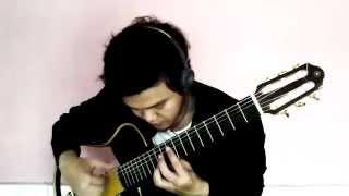 (るろうに剣心/Rurouni Kenshin) Omoi ~Odorenai WARATSU ~ Solo Guitar