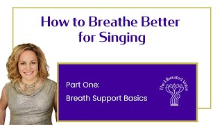 How to Breathe Better for Singing