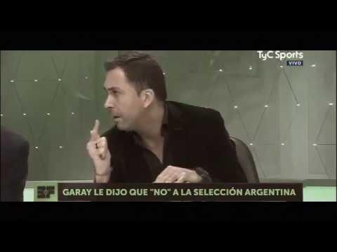 Ezequiel Garay ni en pedo juego mas en  la Selección Argentina