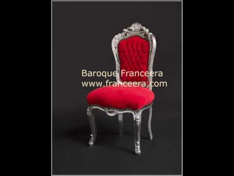 French baroque style furniture linked to that of King Louis XIV of France