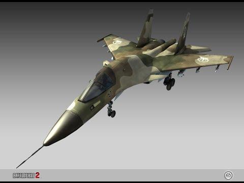 Battlefield 2 { Su-35 ซ่าพาเพลิน  } { Gulf of Oman Map}