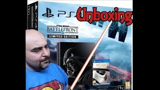 PS4 Star Wars Battlefront Limited Edition Unboxing