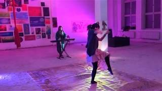Piano-Dance Dual Improvisation - Irakli Mamrikishvili & Valencia Selestina