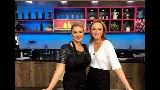 Альбина Джанабаева в программе Разговор со вкусом на RU.TV
