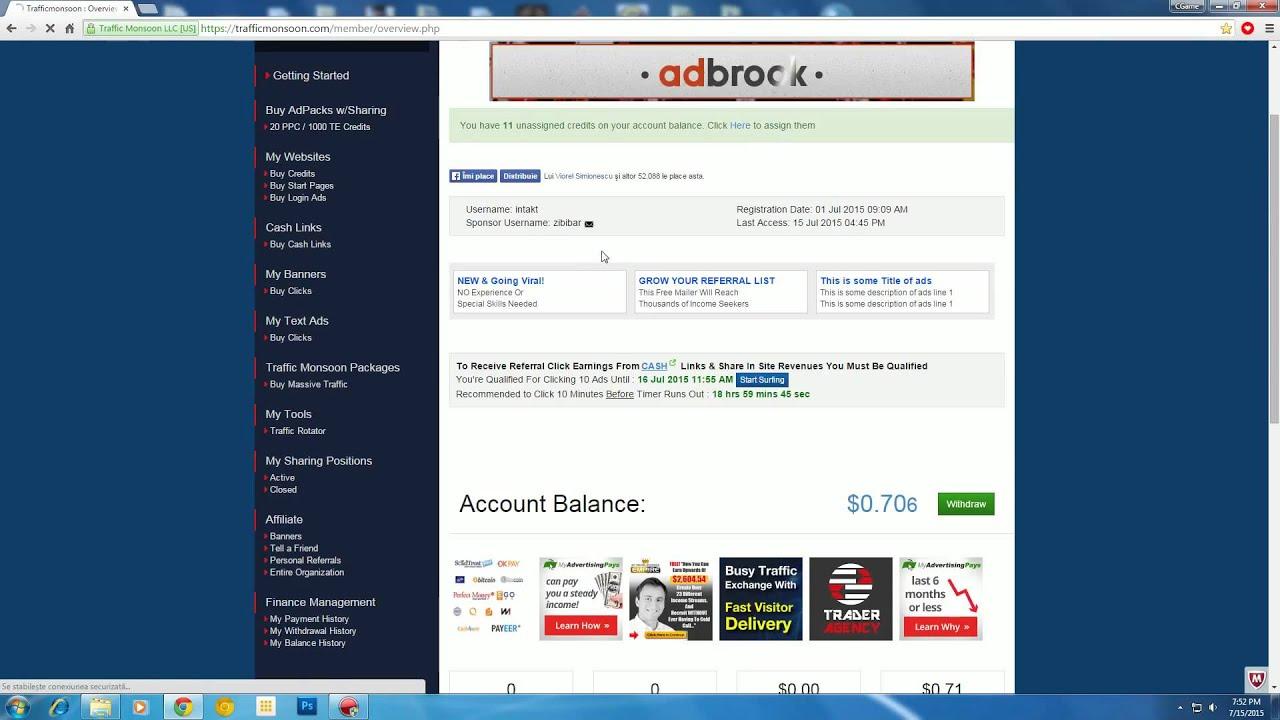 cum să faci bani pe site- uri