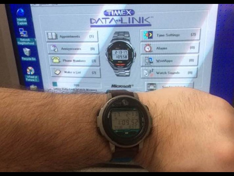 Timex Data Link Watch from 1995
