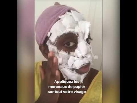 Masque maison purifiant peel off youtube - Masque peau grasse maison ...
