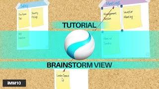 Tutorial: Brainstorm View - iMindMap 10