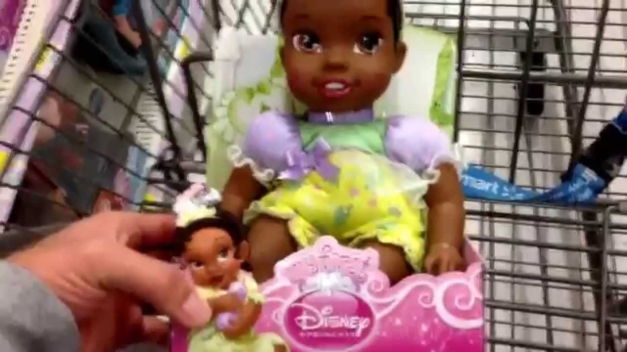 Disney Princess My First Baby Tiana Baby Doll Toy