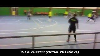 5 GIORNATA-FUTSAL VILLANOVA- FUTSAL GLEMA 2-2