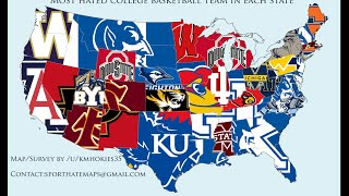 Top 10 Most Hated College Basketball Teams