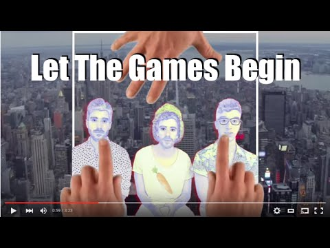 Ajr Let The Games Begin Lyric Video Youtube