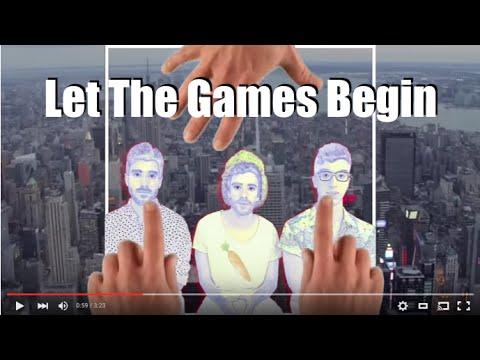 AJR - LET THE GAMES BEGIN (Lyric Video)