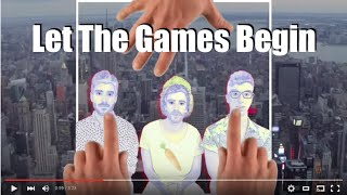 AJR - LET THE GAMES BEGIN (Lyric Video)