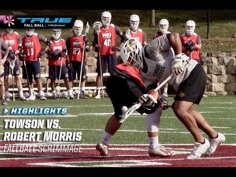 Fallball Highlights: Towson vs. Robert Morris