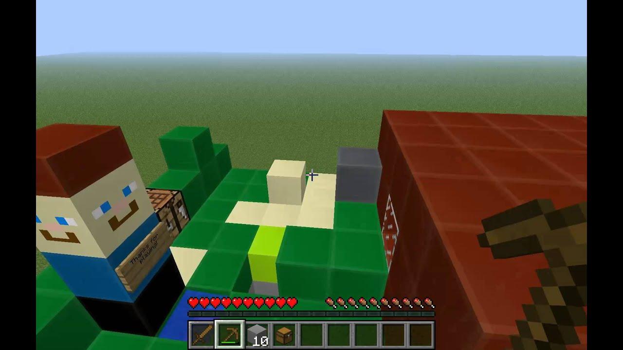 Lego Minecraft Survival Map YouTube