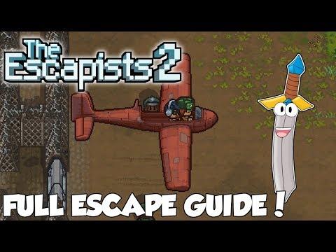 FULL ESCAPE GUIDE! - The Escapists 2 #9 - The Escapists 2 How To Escape K.A.P.O.W Camp