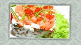 Рецепт. Оливье с лососем. Необычная интерпритация самого новогоднего салата!