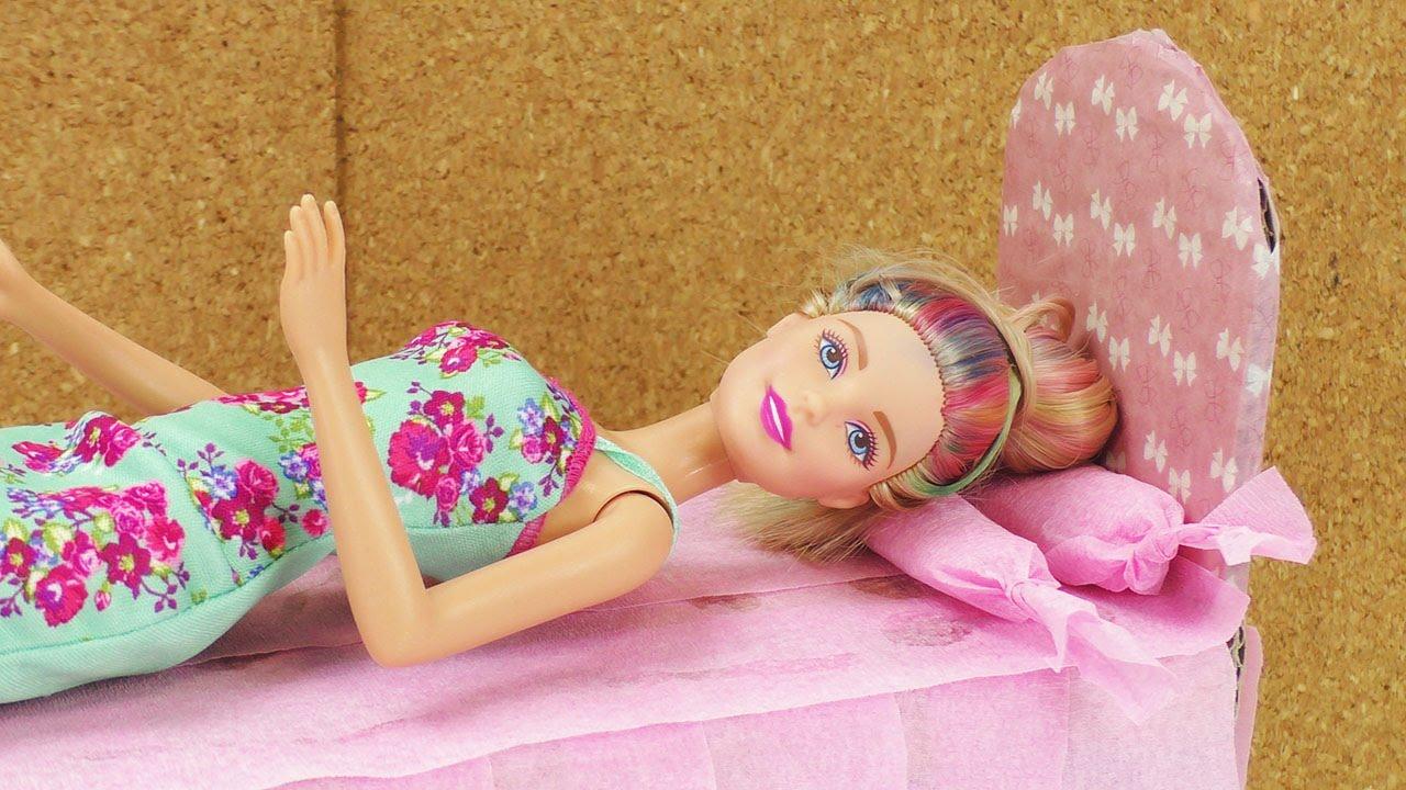 Barbie Bett Selber Basteln Aus Alt Mach Neu Karton Wird Zu