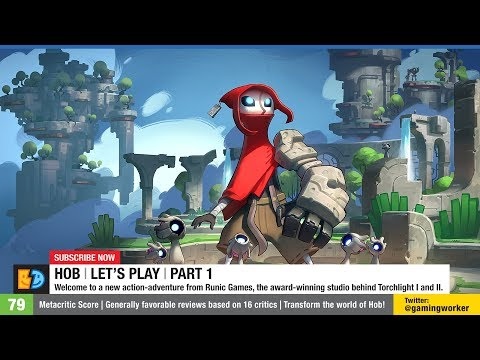 Hob | Let's Play | Part 1