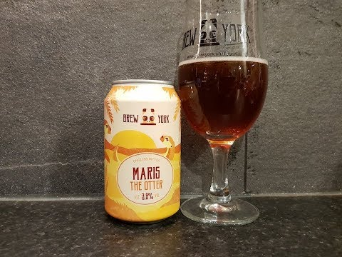 Brew York Maris The Otter Best Bitter   British Craft Beer Review