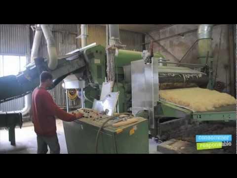 Effir al des isolants naturels pour la youtube - Machine de fabrication de couette ...