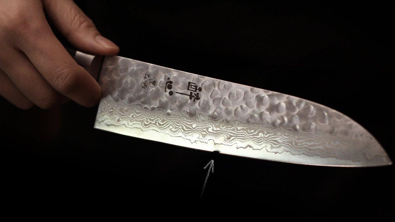 Santoku Messer Japanisches Allzweckmesser Reparieren Youtube
