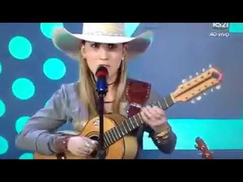 Bruna Viola no programa Vem com Fé da Rede Século 21.
