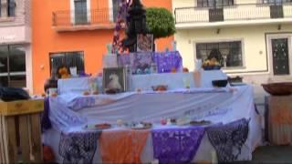 Altares de Muertos - Plaza - Villa Hidalgo Jalisco 2013