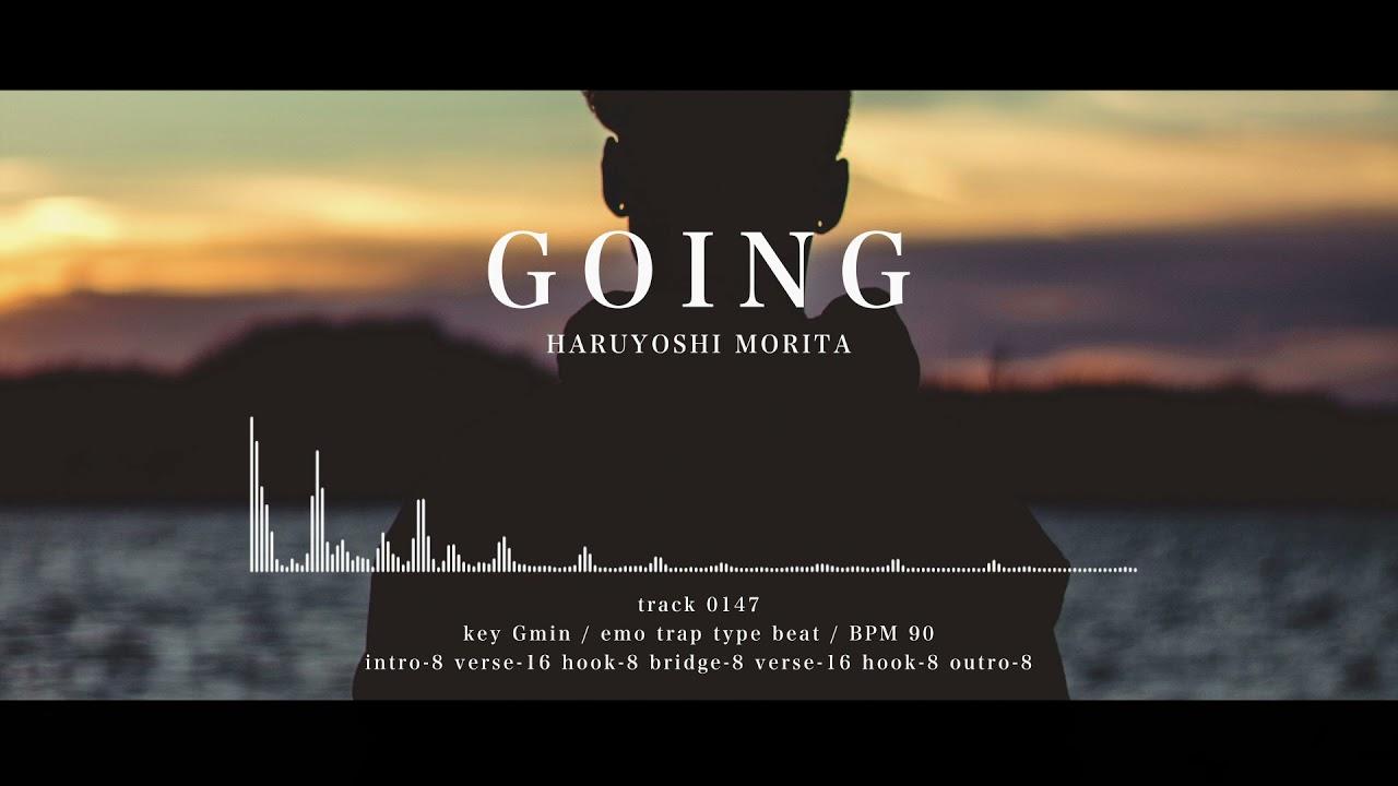 【フリートラック/free track】GOING/hiphop/chill/R&B/Juice WRLD type beat/insturument/mellow/sad/lonely/guiter