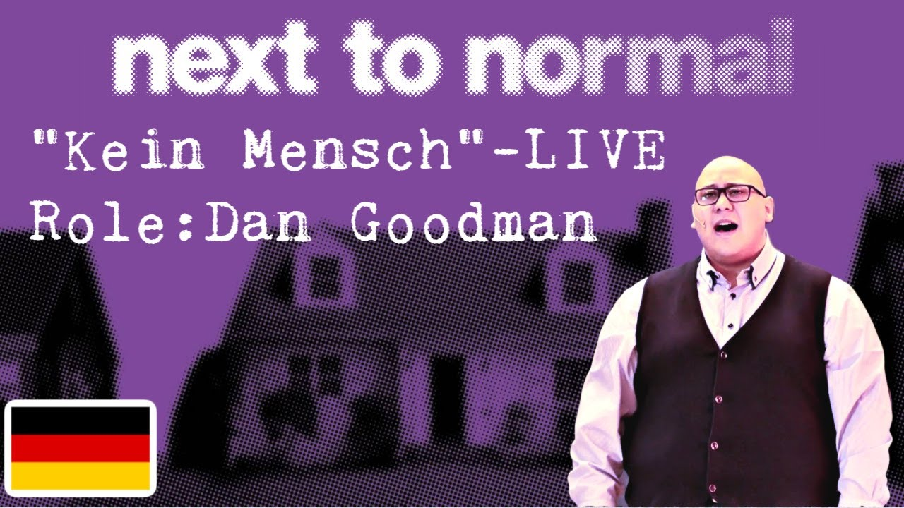 "Andrew Reyes - ""Kein Mensch"" LIVE - from Next to Normal"