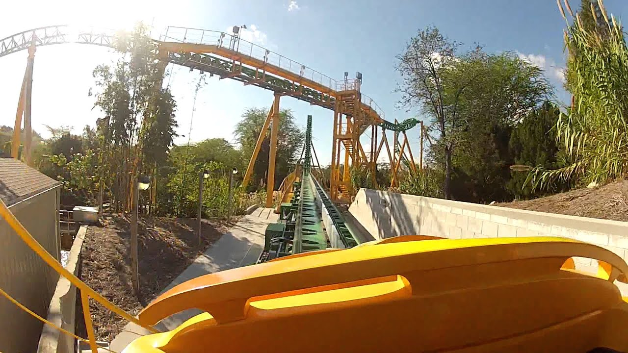 Cheetah Hunt - Busch Gardens - Front Row - YouTube
