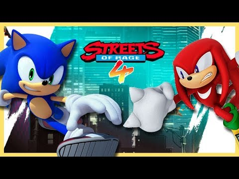 THIS GAME IS SO FUN!! Sonic & Knuckles Play Streets Of Rage 4 |