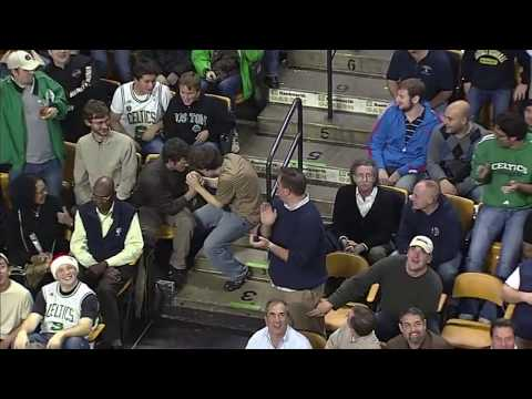 Boston Celtics Fan Jeremy Fry Dances To Bon Jovi's